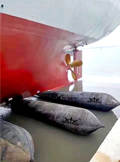 Ship Launching And Landing Airbag