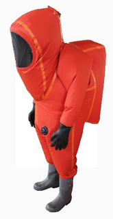 Gas Tightness Chemical Protective Clothing